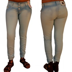 Pantalones Vaqueros Push Up Ene2 / Jeans Levanta Cola