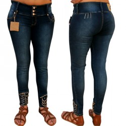 Pantalones Vaqueros Colombianos Push Up Utopía / Jeans Levanta Cola