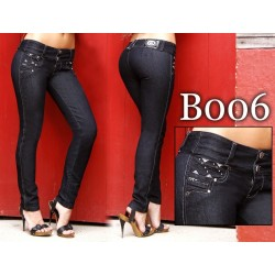 Jeans colombianos Bumm Negros