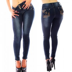Pantalones Vaqueros Push Up Baratos / Jeans Levanta Cola Horma Colombiana