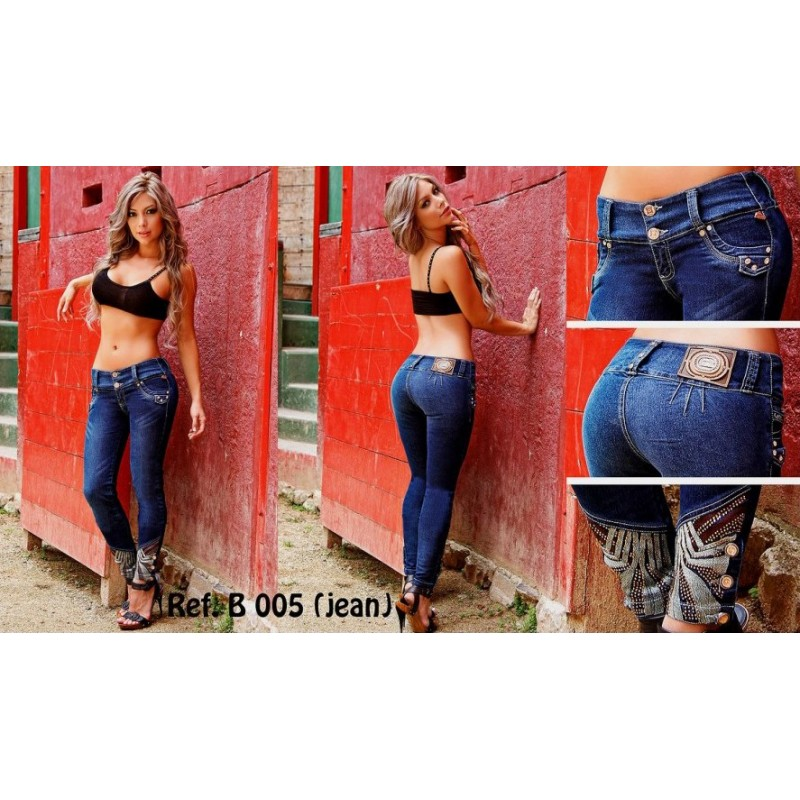 Jeans colombianos Bumm